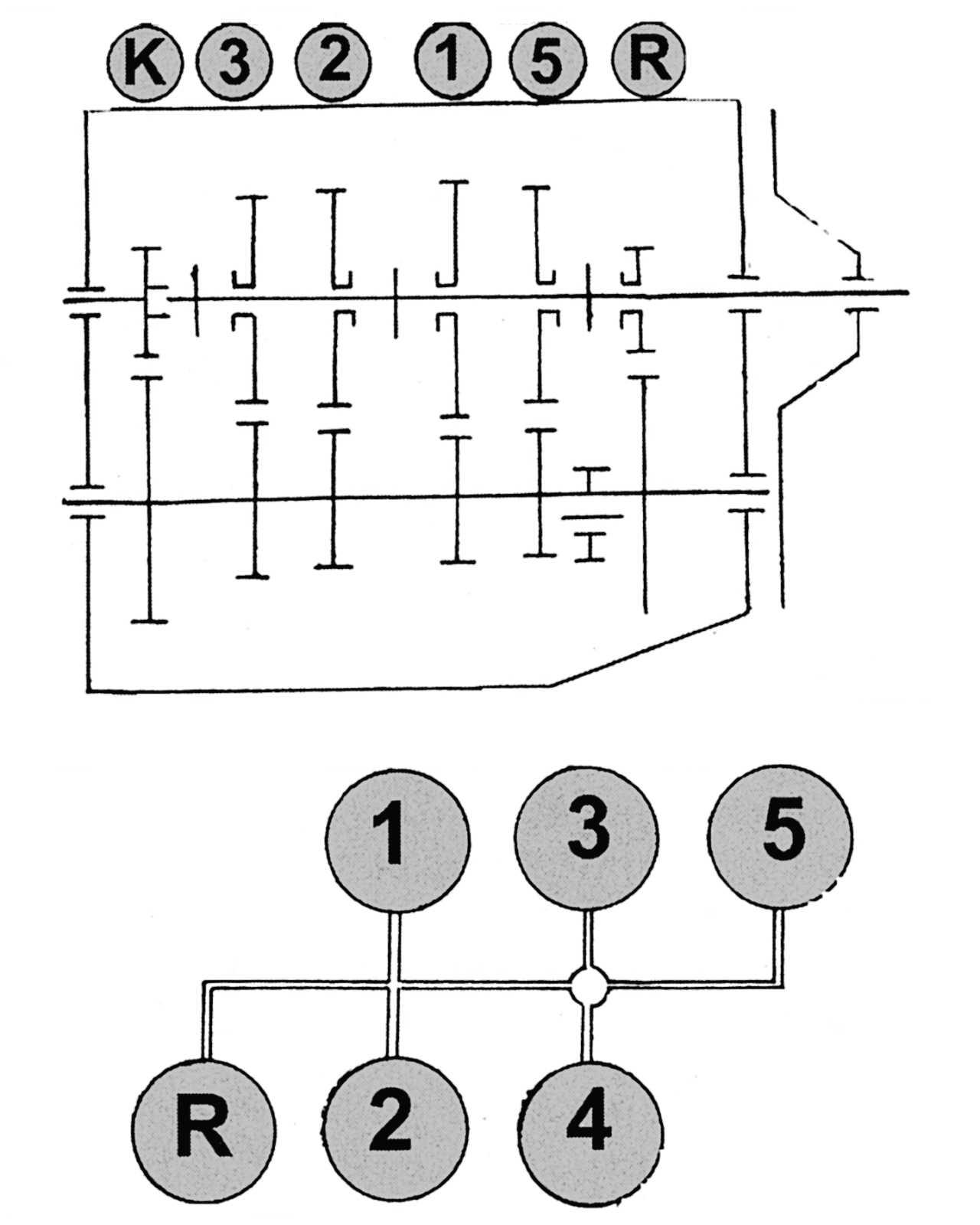 схема переключения коробки передач трактора мтз 80