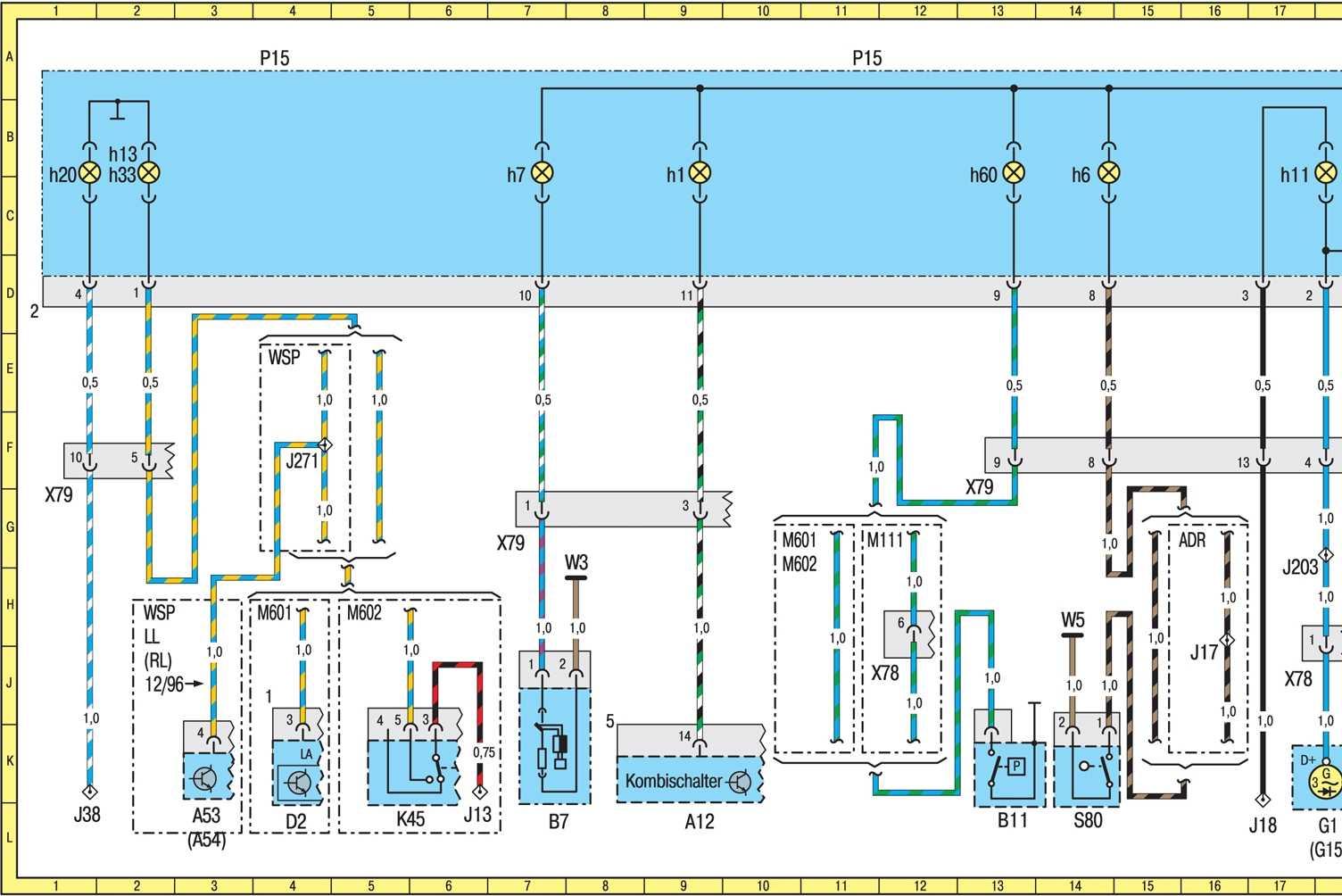 схема управления свечами накала mercedes vito