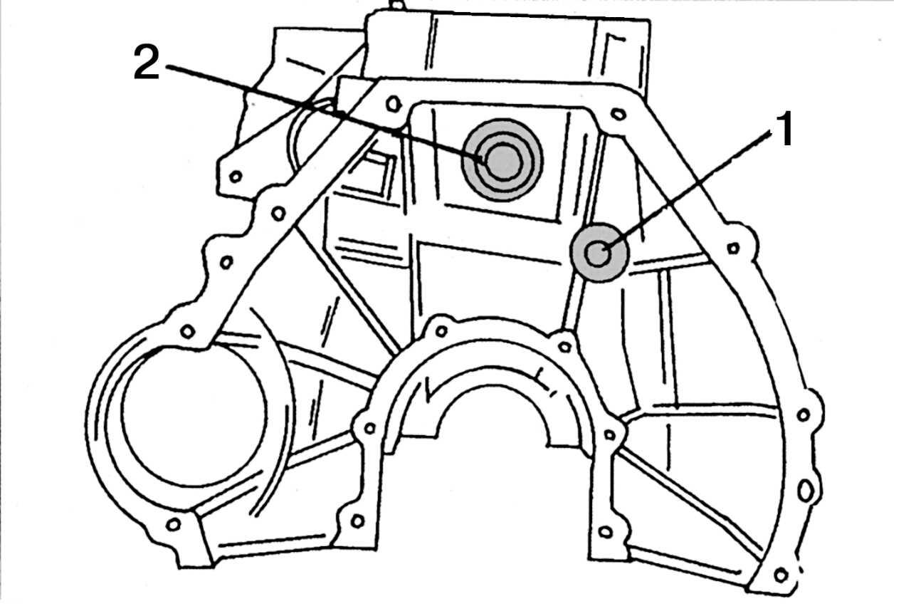 схема смазки мерседес дизель серии 601